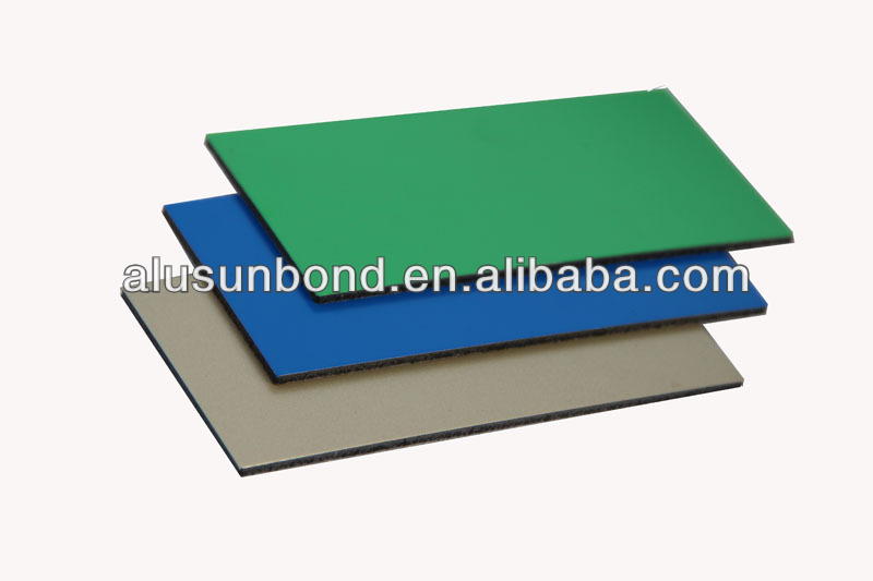 PE Coating and Indor Usage aluminum composite panel
