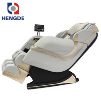 luxury massage chair/zero gravity massage chair/black and cream-coloured leather sofa