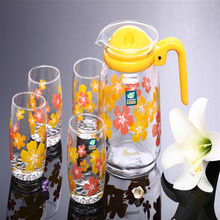 7PCS water glass jug and cup set