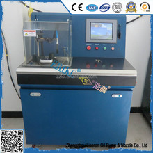 Diesel fuel injector testing machine for common rail vehicle equipment