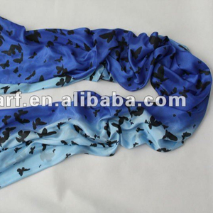 pashmina Hot printed butterfly scarf