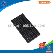 144 cell square plastic flower nursery seed trays