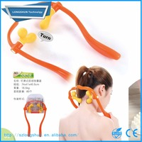 plastic hand held adjustable neck physical therapy tool