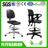 Swivel laboratory chairs/adjustable height science lab stool chair
