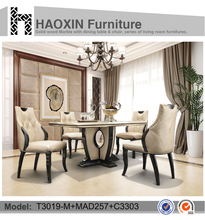 Mirrored Dining Table Home Furniture Dining Room Furniture T3019-M+MAD257+C3303