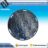 Heavy duty Cast Iron Manhole cover or Cast iron grating from China