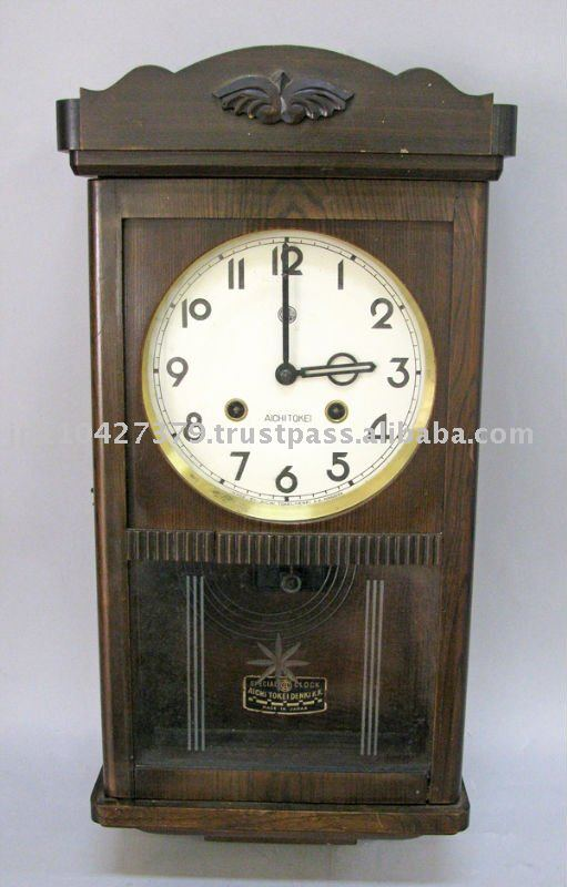 AICHITOKEI ltd Antique Hanging Clock