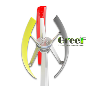 NEW! 1KW Vertical wind generators for home, off grid 1000w vertical axis residential wind turbines!