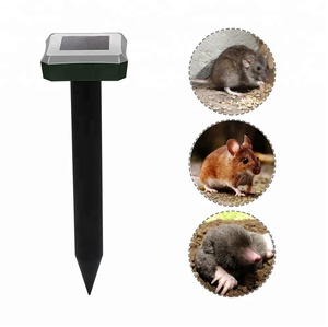 Chinese Manufacturer Newest Design Outdoor Waterproof Solar Pest Repeller for Mole Mice Rat Rodent Vole