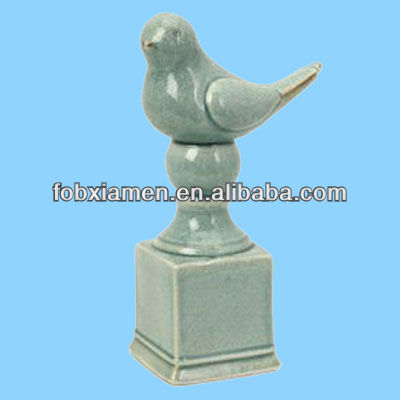 Bird Shaped Porcelain Bed Finials