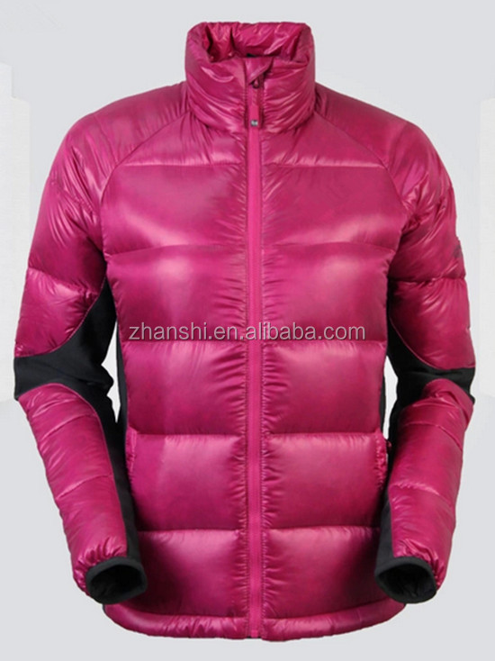 2016 High Quality Newest Outdoor Sport Ladies Winter Down Coat