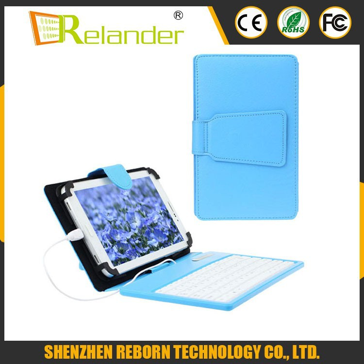 7 inch computer keyboard Case Android Tablet Case With USB keyboard