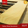 Yellow wooden vein Sandstone wall&floor tile,landscape stone honed