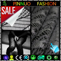 2014 fashion black lace fabric stores in china for dress