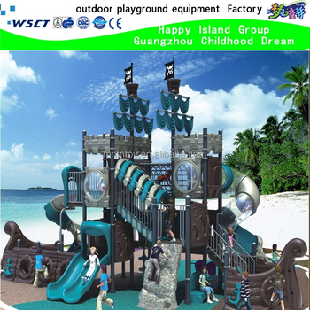 Parate ship series of outdoor playground equipment