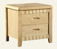 Wooden 2 drawer night stand/Bedside table /Endtable