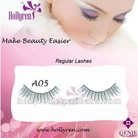 (#A05)Handmade Natural False Strips Eye Lashes for Nude Makeup