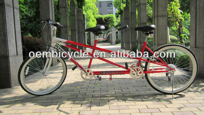 26inch hot sell new style <strong>folding</strong> tandem bike