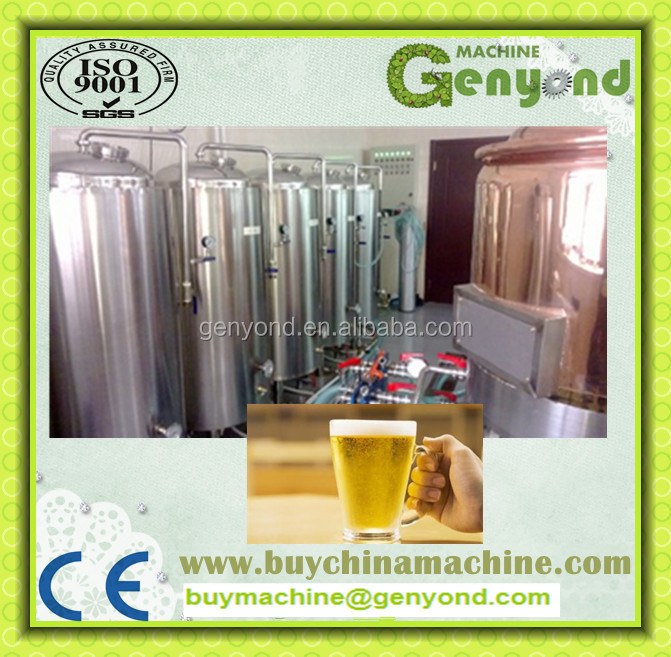 small beer making machine/system/equipment/micro beer production line