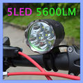 2 in 1 5600lm CREE XML T6 LED Adjustable Rechargeable Bike Lights