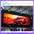 best sale p6 smd outdoor scrolling led board with led power supply for led programmable signs screen