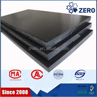 10-100mm black POM sheet