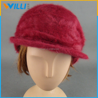 2015 hot sale product Wool Cloche Young Girls Hat
