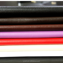 Leather Fabric Wholsale embossed& Synthetic Pu Leather For Making Sofa bag