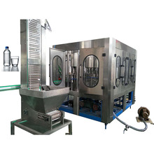 mineral water plastic bottle liquid filling packing machine production line for hot sales