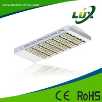 Die-casting ip65 water proof high lumen output CE & RoHs approved 210W led street light fitting with rubber cable toughened glas
