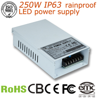 CCQ electrical rainproof led equipment CQ-150W 12V 12.5a 150w ac/dc switching mode power supply
