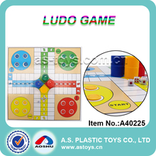 Folding intellect ludo chess game
