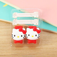Cartoon cable protector and cord winder set wholesale promotion gift cell phone accessories