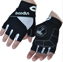 Silica Gel Vibration Damper Breathable Cycling Gloves for Outdoor Activities