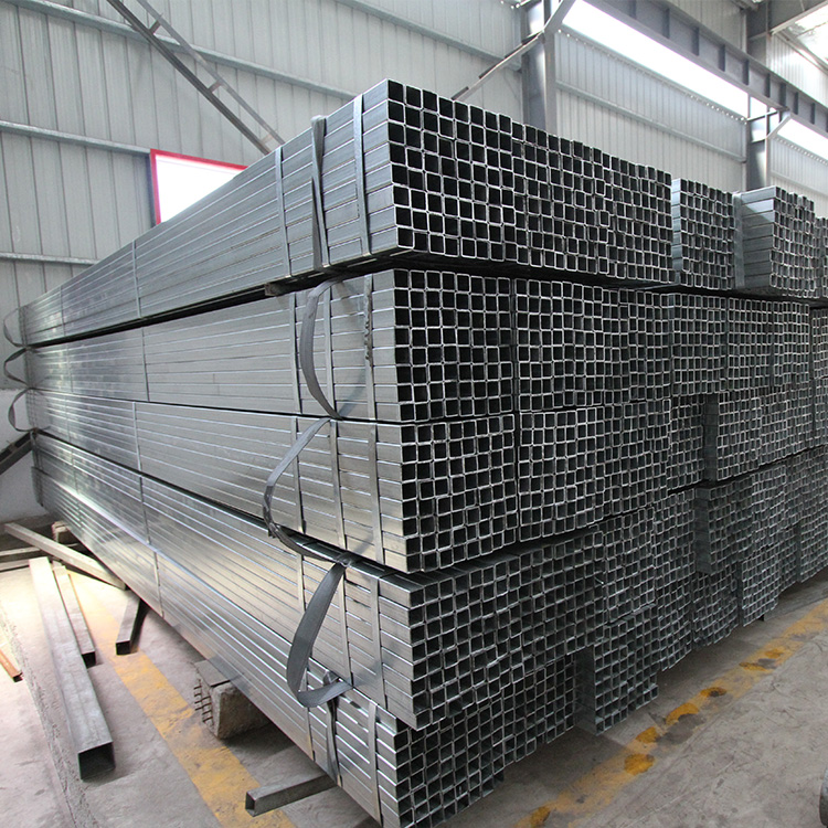 cold rolled steel pipes with low price 20*20 pre galvanized square tube