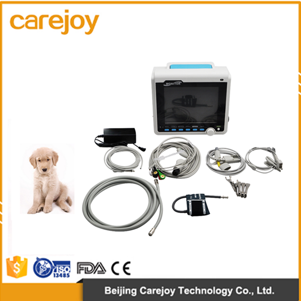 Best quality 8.4-inch cheap multi parameter portable digital veterinary monitor supports ETCO2