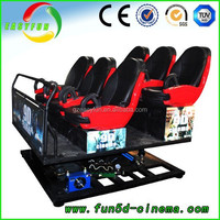 2016 Hottest truck mobile 5D cinema theater 5D 4D simulation cinema 7d cinema cabin hot