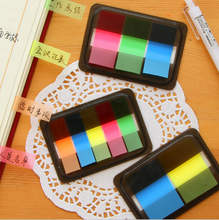 Transparent Decorative PET Sticky Notes in Plastic Case