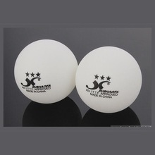 wholesale new material 40mm seamless XUSHAOFA brand ping pong ball wholesale 1star and 3 star table tennis ball
