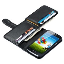 Universal smart phone wallet style leather case for Samsung Galaxy S3/S4