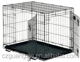 Metal dog crates portable rabbit cages