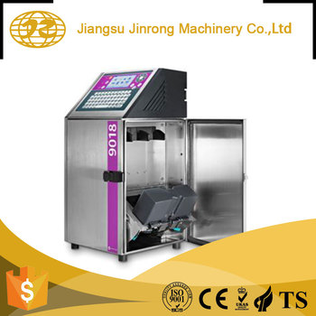 High speed rotary bottle color label industrial inkjet printer machine