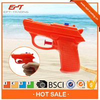 Plastic toy real color small water gun with good price