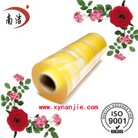 Breathable film for food grade transparent self adhesive pvc stretch film 9micron