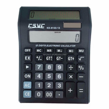 12 digits solar&battery power office/desktop calculator KK-8122