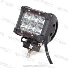 18W truck work lamp led light bar,4x4 accessory off road