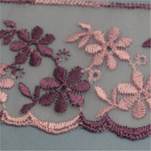 High Quality Lace Fabric Neck Embroidery Design