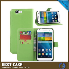 China alibaba Flip Leather case for Huawei Ascend G7 wallet phone case