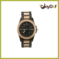 China wholesale price watch strap wooden watch, Hot sale Japan movt quartz vogue bamboo watch