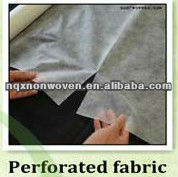 Perforation non-woven tear away paper